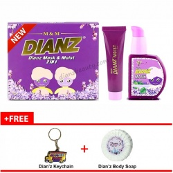 Dianz Mask & Moist 2 in 1 2018 + FREE Shipping